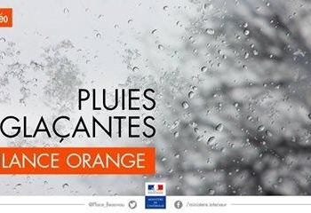 Vigilance Orange neige verglas :